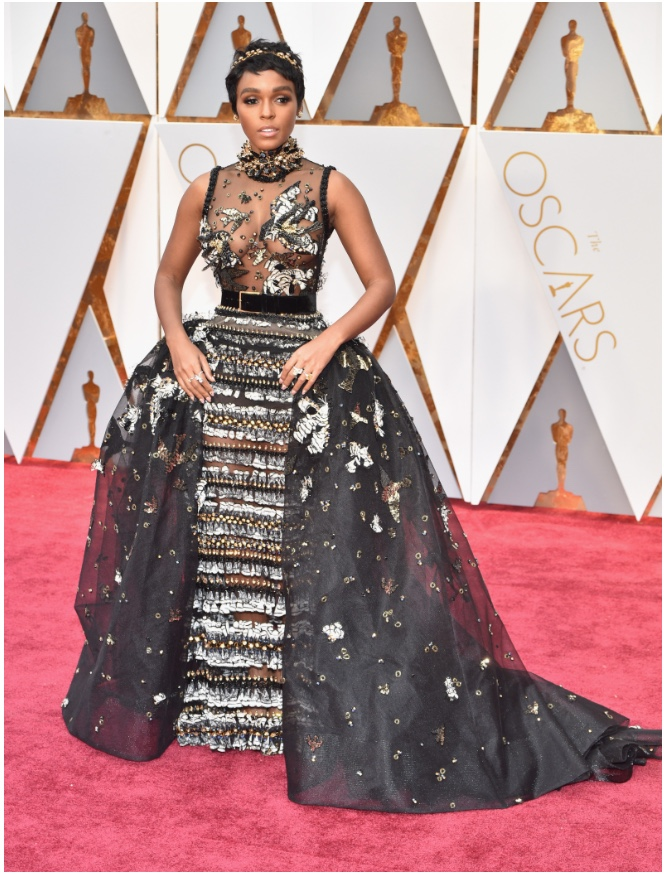Oscars 2017 Best Dressed Jannelle Monae in Elie Saab Couture