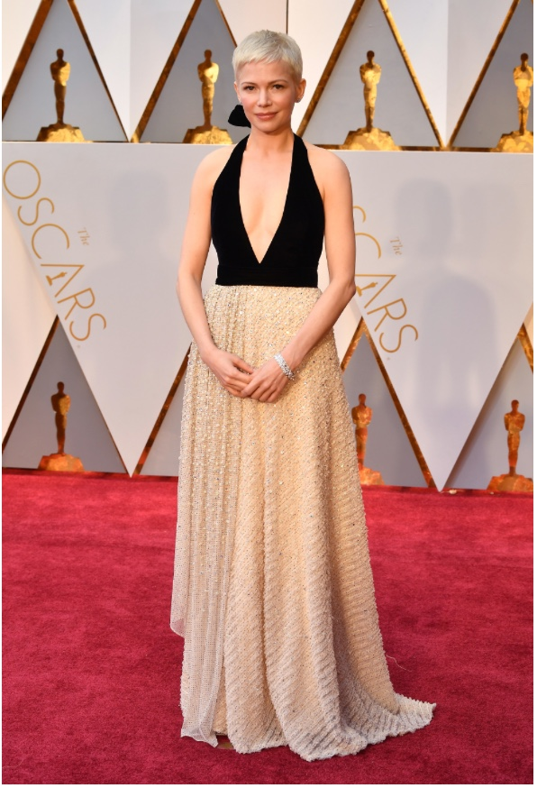 Oscars 2017 Best Dressed Michelle Williams in Louis Vuitton