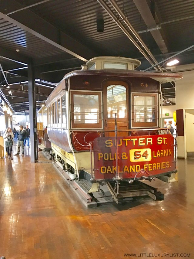 Best Free Places in San Francisco with a toddler cable car museum