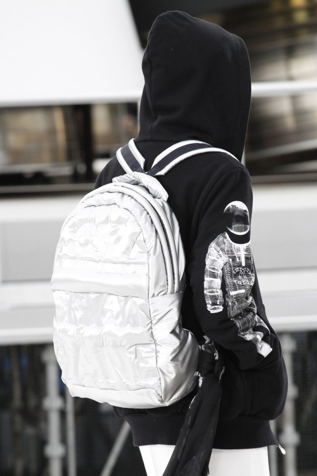 Chanel Autumn:Winter 2017 Details backpack