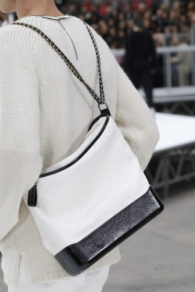 Chanel Autumn:Winter 2017 Details backpack purse