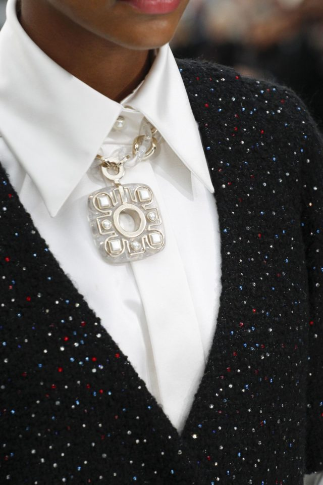 Chanel Autumn:Winter 2017 Ready to Wear Details necklace