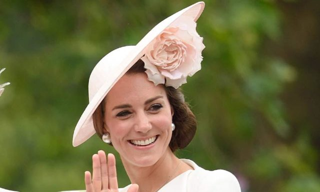 Kate Middleton rose Famous Philip Treacy hats