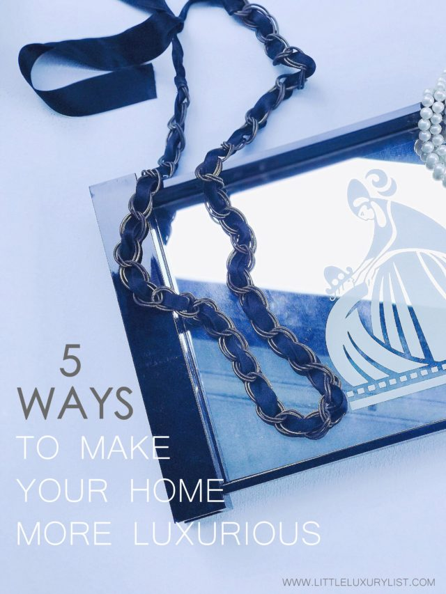 5 ways to make your home more luxurious - Lanvin tray-001