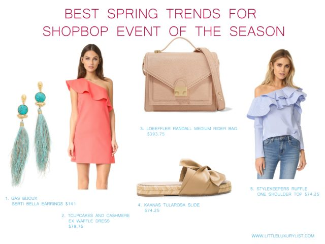 Best Spring trends for Shopbop event of the season