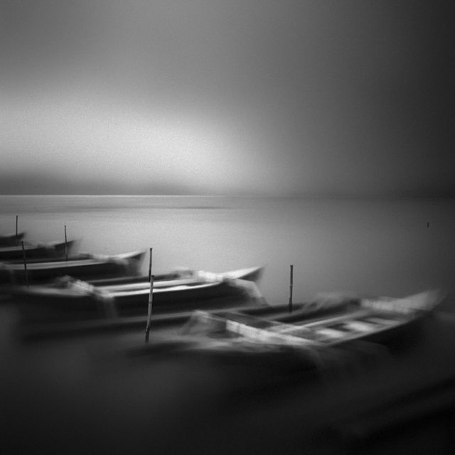 Hengki Koentjoro black and white monochromatic photography boat