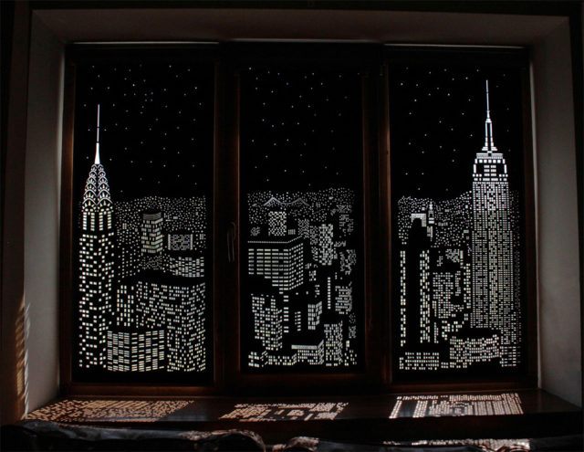 Cityscape blinds - Holeroll blinds NYC