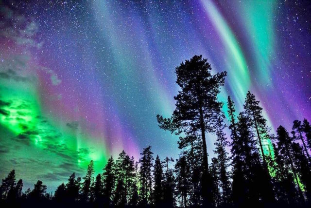 Incredible Natural views - Aurora Borealis