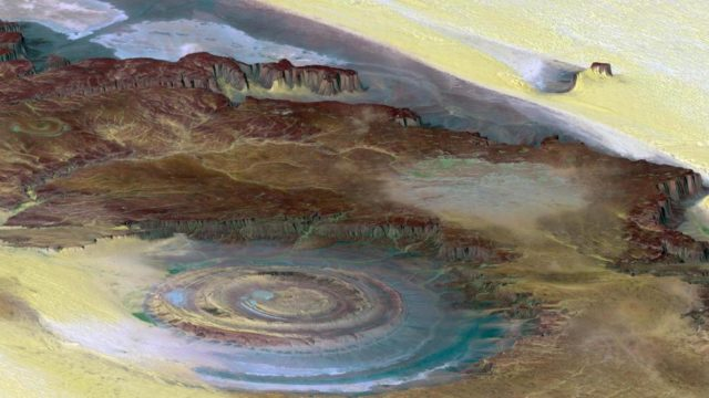 Incredible Natural views - Richat Structure