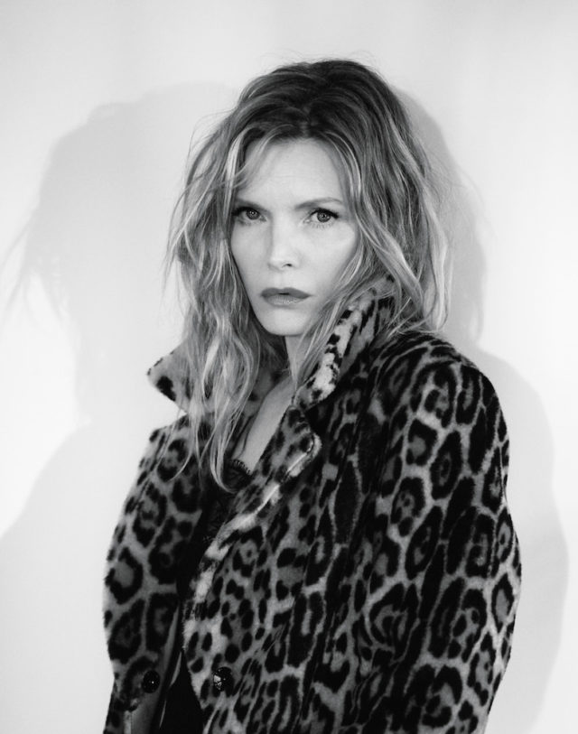 MICHELLE PFEIFFER BY MIKAEL JANSSON for Interview April 2017 in leopard coat