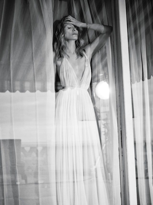 MICHELLE PFEIFFER BY MIKAEL JANSSON for Interview April 2017 in white dress