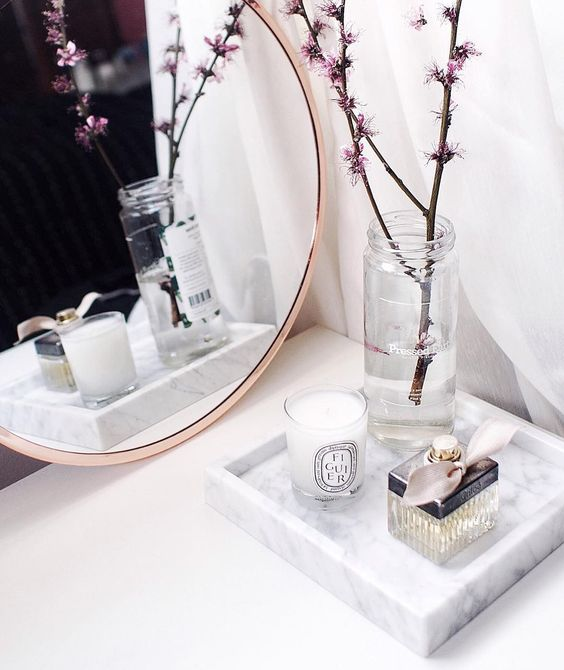 Marble Home Decor tray