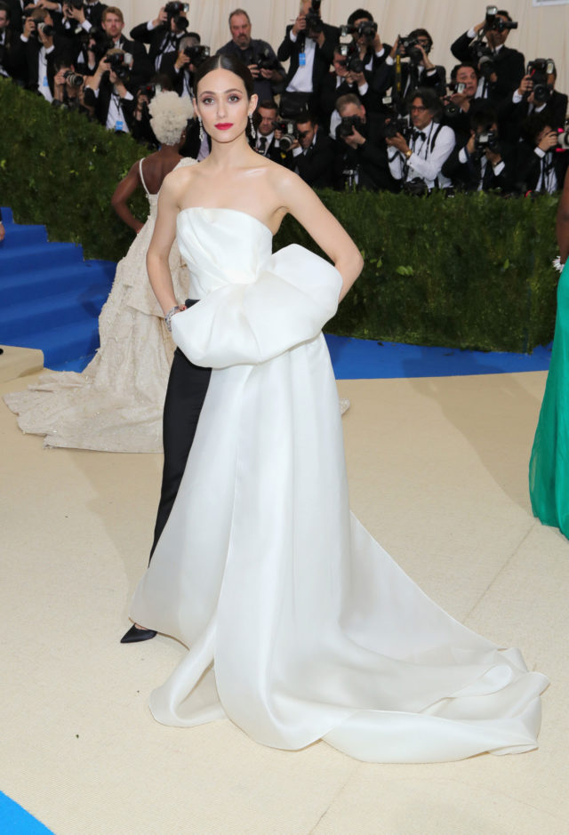 Met Gala 2017 best looks - Emmy Rossum in Carolina Herrera