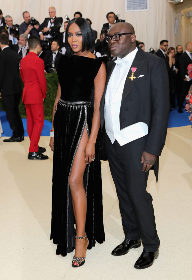 Met Gala 2017 best looks - Naomi Campbell in Edward Enninful