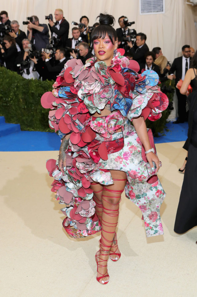 Met Gala 2017 best looks - Rihanna in Commes des Garcons