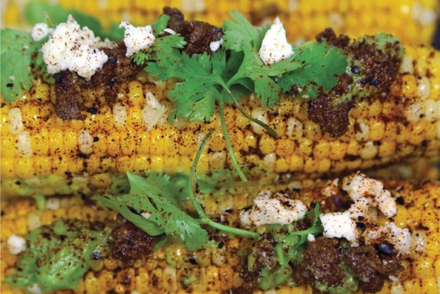 Perfect Cinco de Mayo Recipes ancho chile rubbed grilled corn