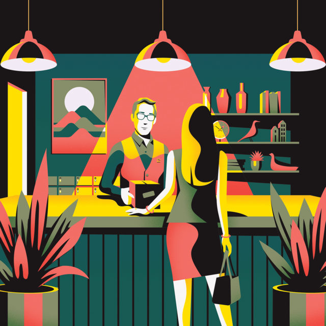 Colorful-London-Illustrations-by-Jack-Dally-at-counter