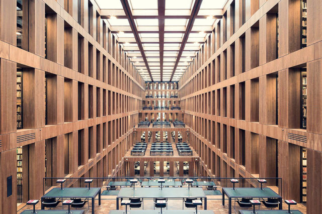 Europe's Most Enchanting Libraries by Photographer Thibaud Poirier Grimm Zentrum Berlin