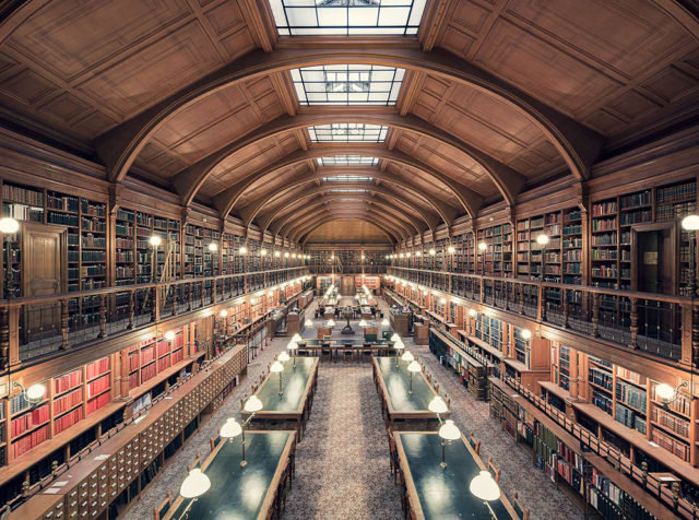 Europe's Most Enchanting Libraries by Photographer Thibaud Poirier Hotel de Ville