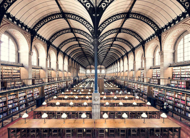 Europe's Most Enchanting Libraries by Photographer Thibaud Poirier Sainte Genevieve
