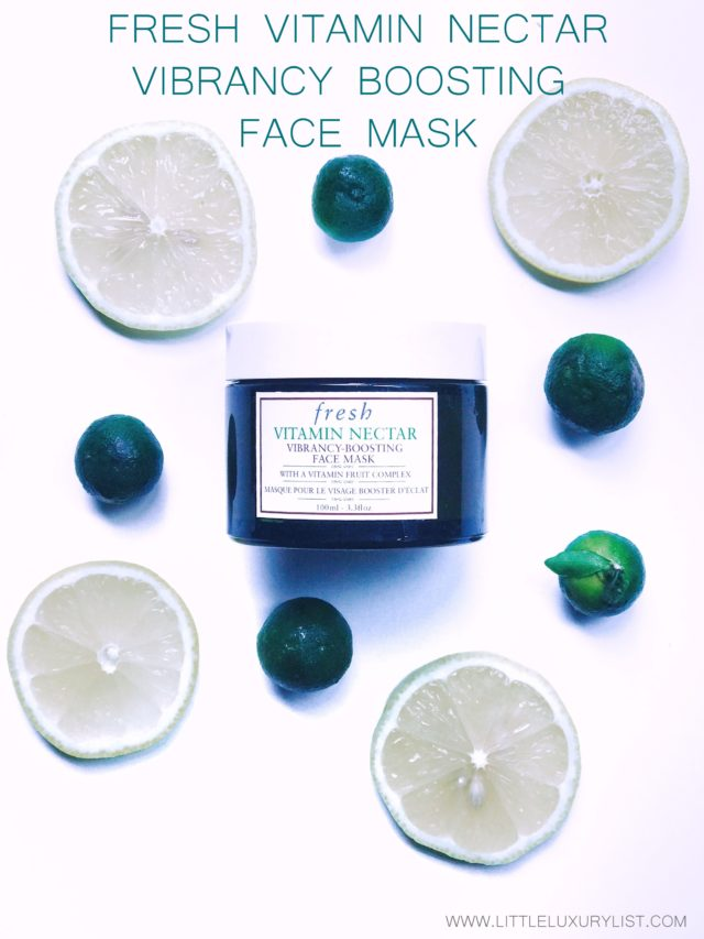 Fresh Vitamin Nectar vibrancy boosting face mask with lemons and limes-001