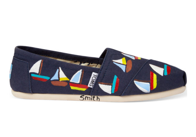 Toms Exclusive Designs Haiti Artist collective Sailboats