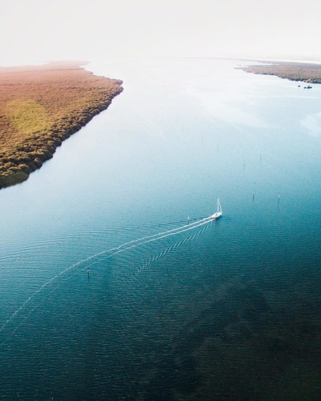 Aerial pictures of South Australia by Mr. Bo boat