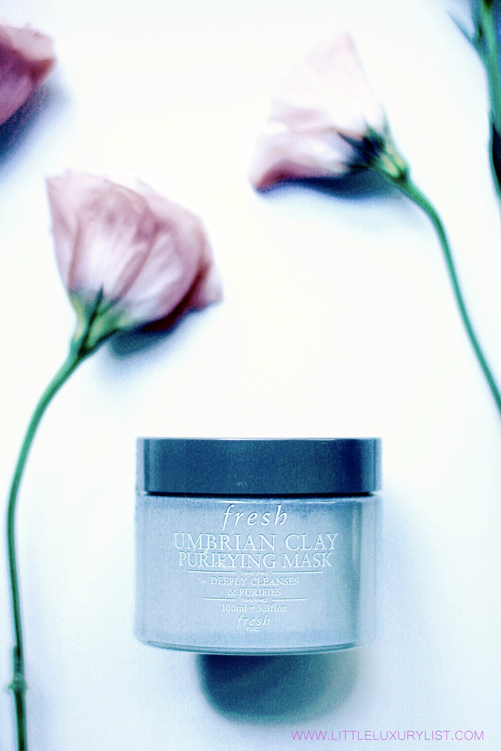Fresh Umbrian Clay purifying mask with roses