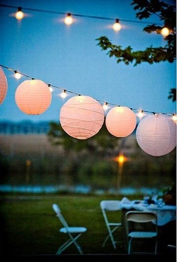 Luxury for Less- Summer Entertaining Decor lantern