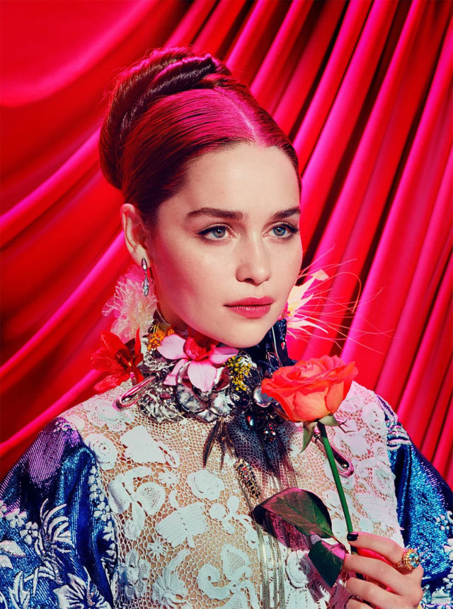 Game of Thrones in Time Magazine Emilia Clarke