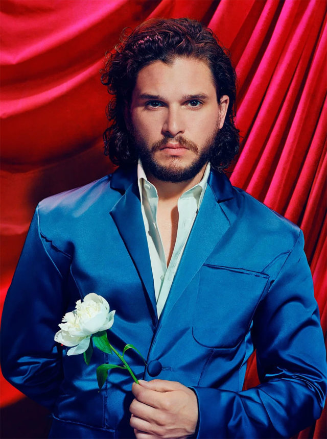 Game of Thrones in Time Magazine Kit Harington