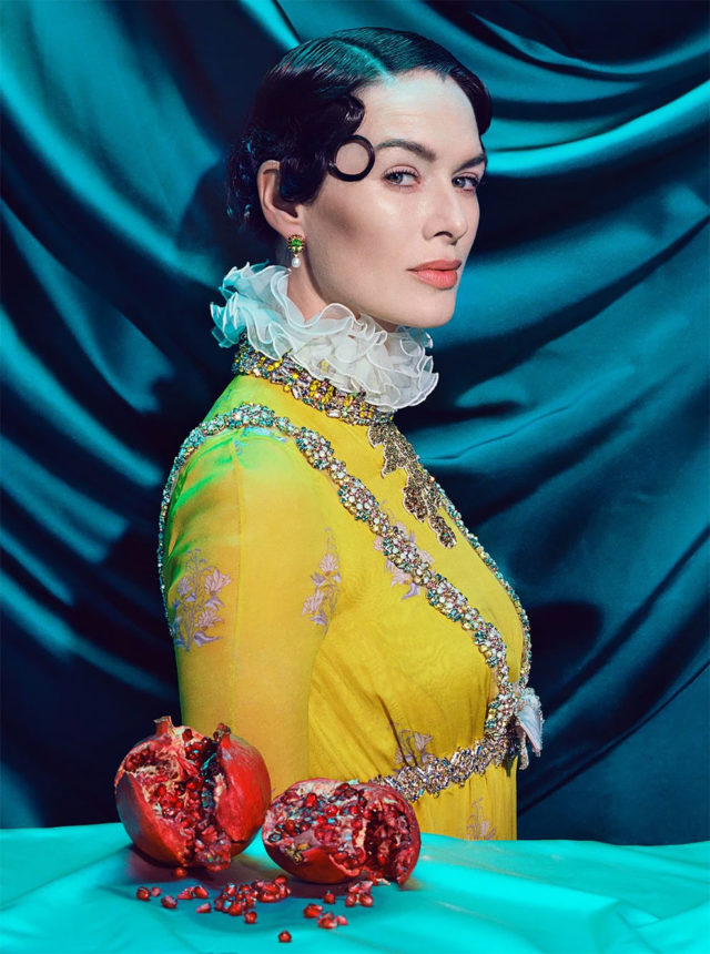 Game of Thrones in Time Magazine Lena Headley