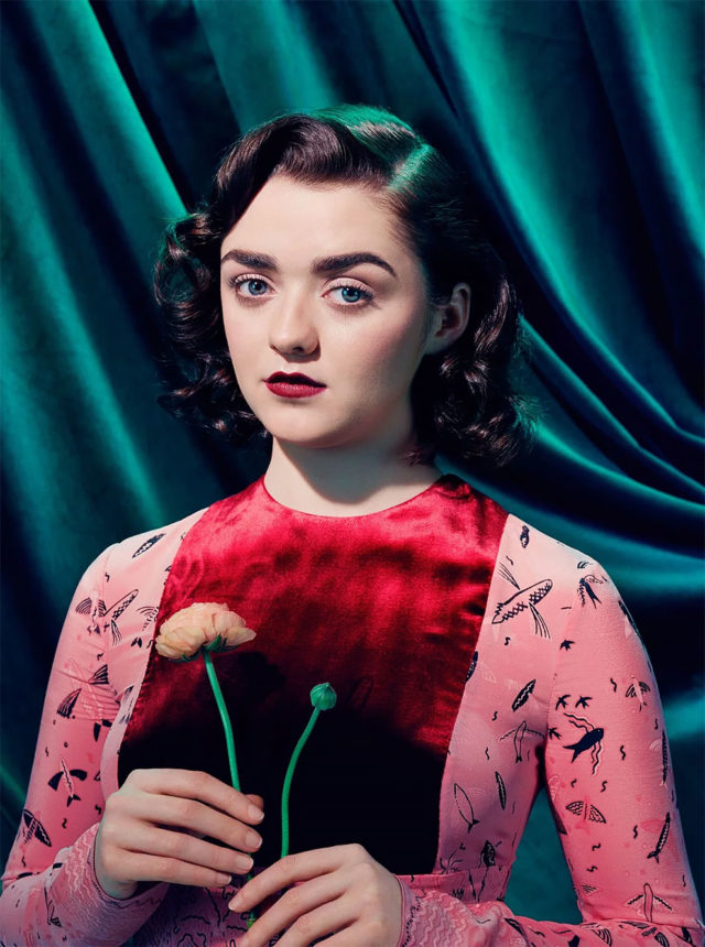 Game of Thrones in Time Magazine Maisie Wiliams
