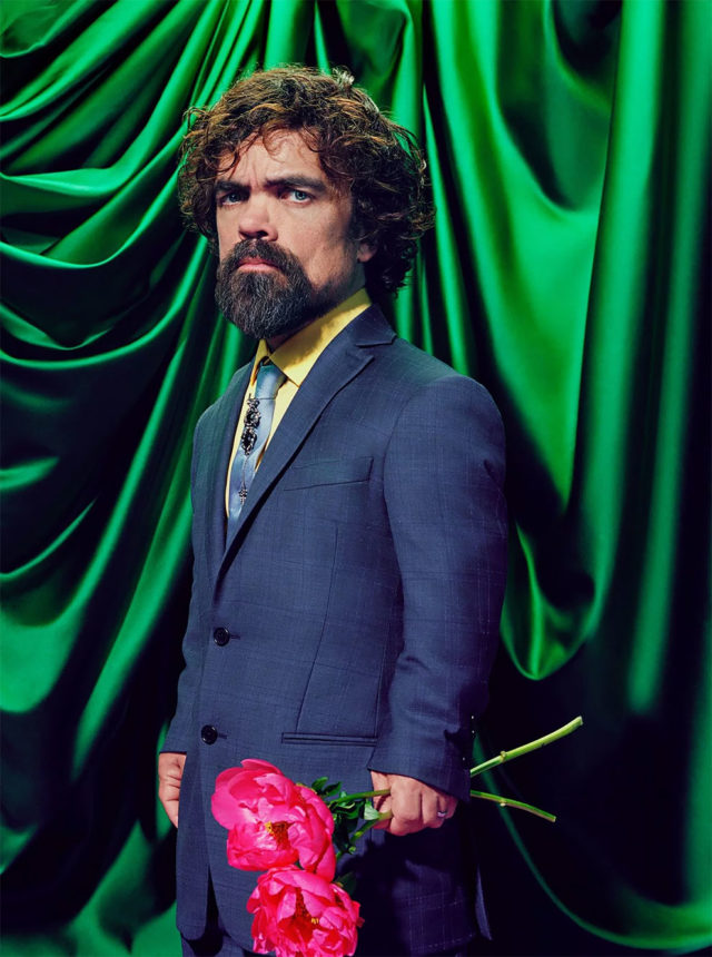 Game of Thrones in Time Magazine Peter Dinklage