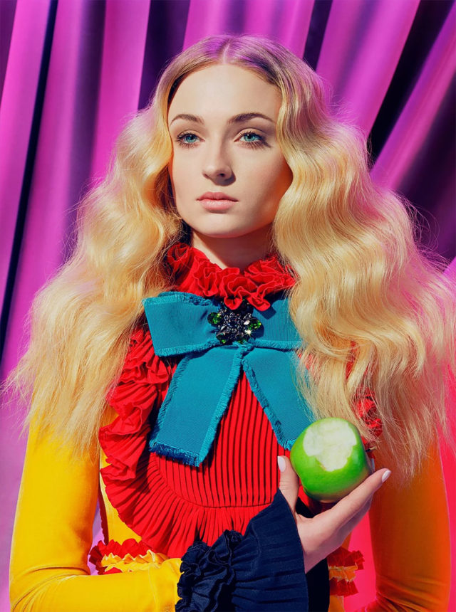 Game of Thrones in Time Magazine Sophie Turner