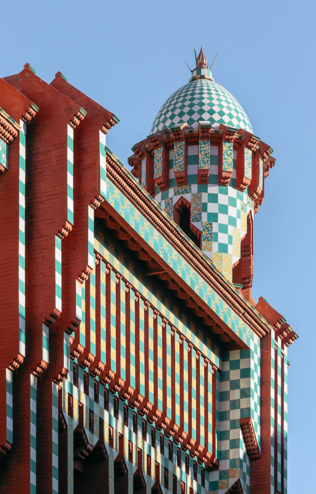 Gaudi home in Barcelona - Casa Vicens tower