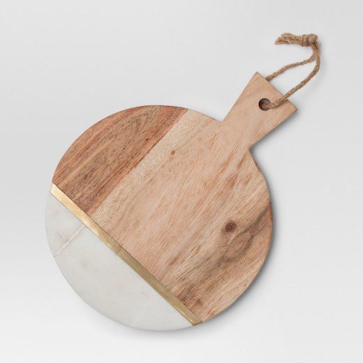 Project 62 at Target marble and wood cheese cutting board