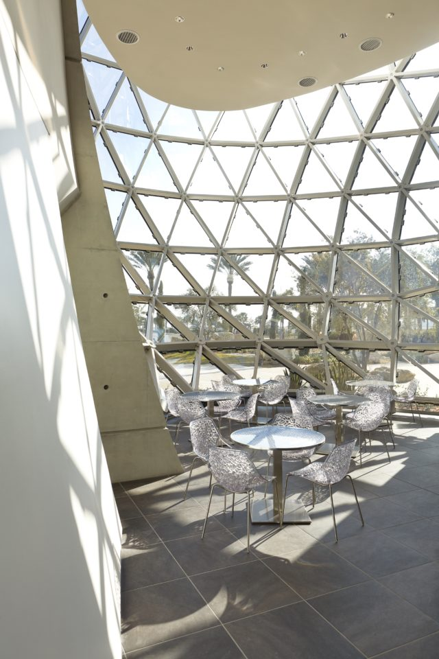 Salvador Dali museum designed by HOK seating