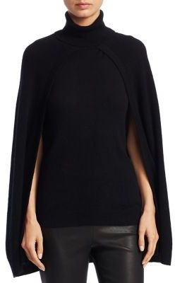 Best Black Friday items to buy 2017 - turtleneck layered cashmere cape