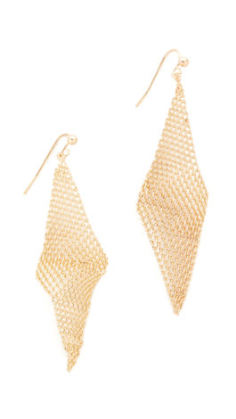 New Jewelry Picks for the New Year - mesh earrings