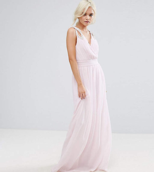 Pink gowns at the SAG Awards ASOS dress